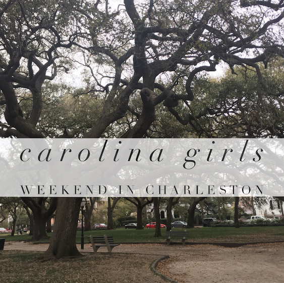 A weekend in Charleston