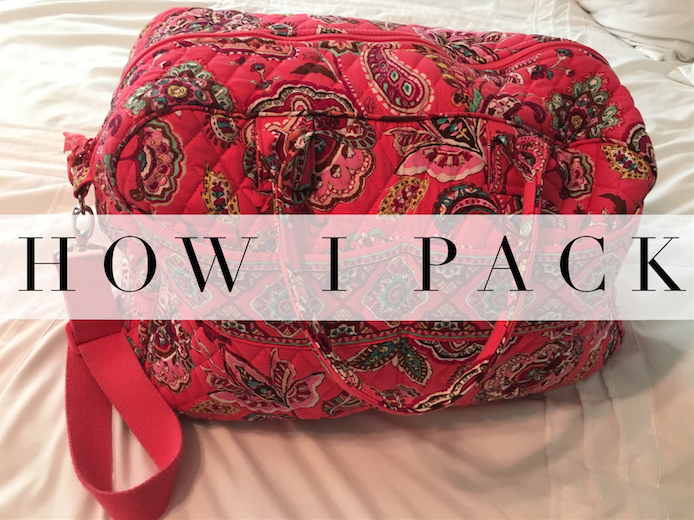 How I pack… without stressingout
