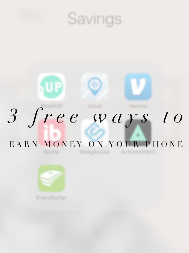 3 FREE ways to earn money on yourphone