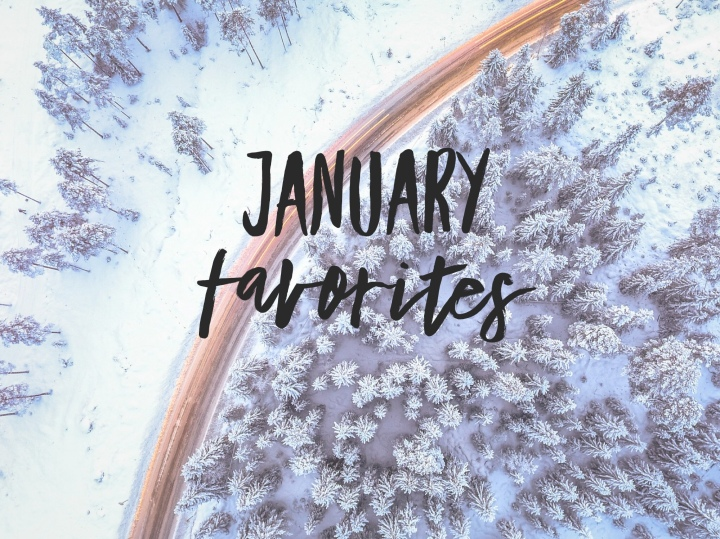 Monthly Favorites | January 2018