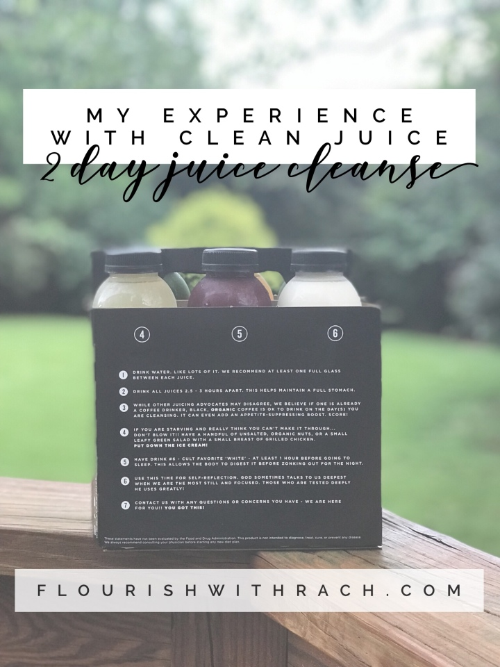 Clean Juice – 2 Day Cleanse