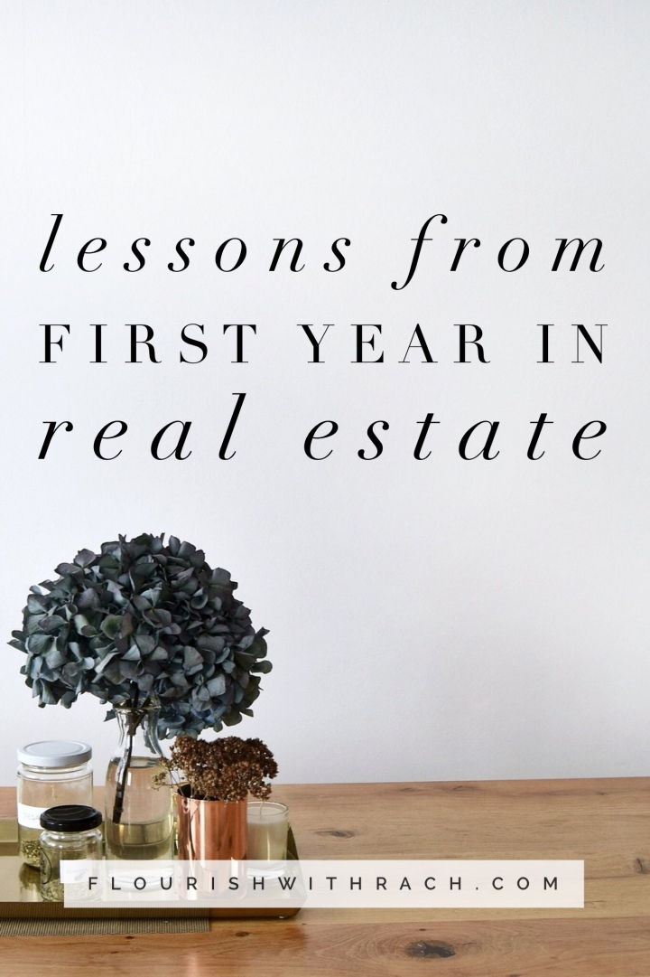 Lessons from first year in RealEstate