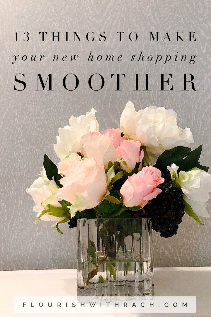 13 things to make your new home shopping smoother