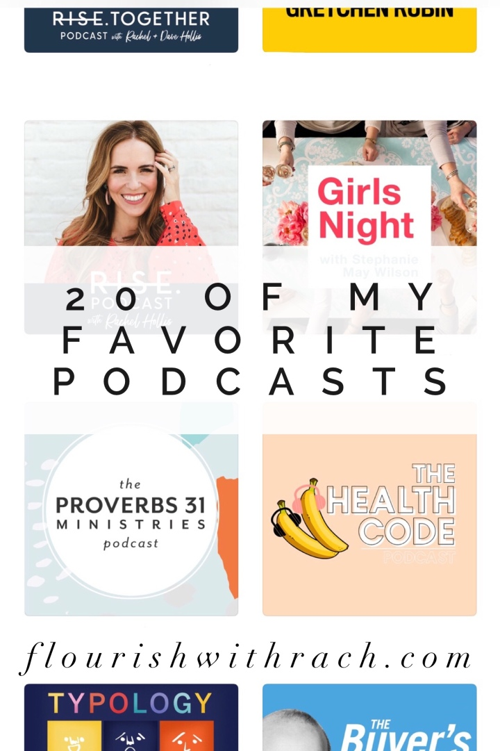 20 of my favorite podcasts