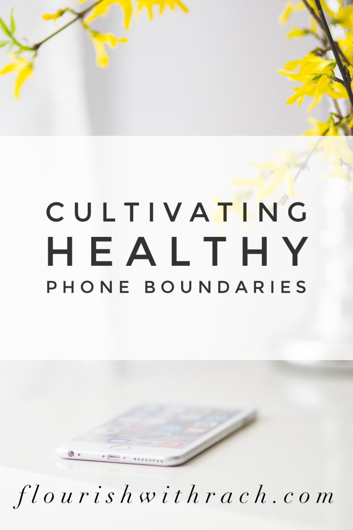 Cultivating healthy phone boundaries