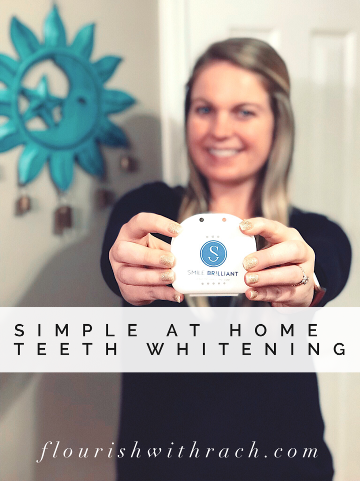 Simple at home teeth whitening