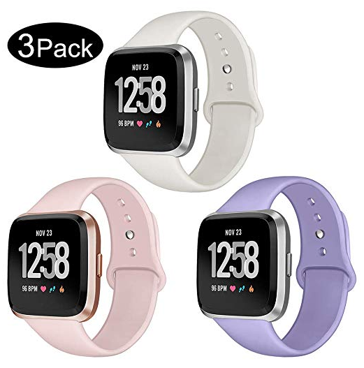 Silicone Fitbit Versa bands