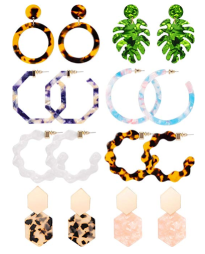 8 Pairs of Statement Earrings