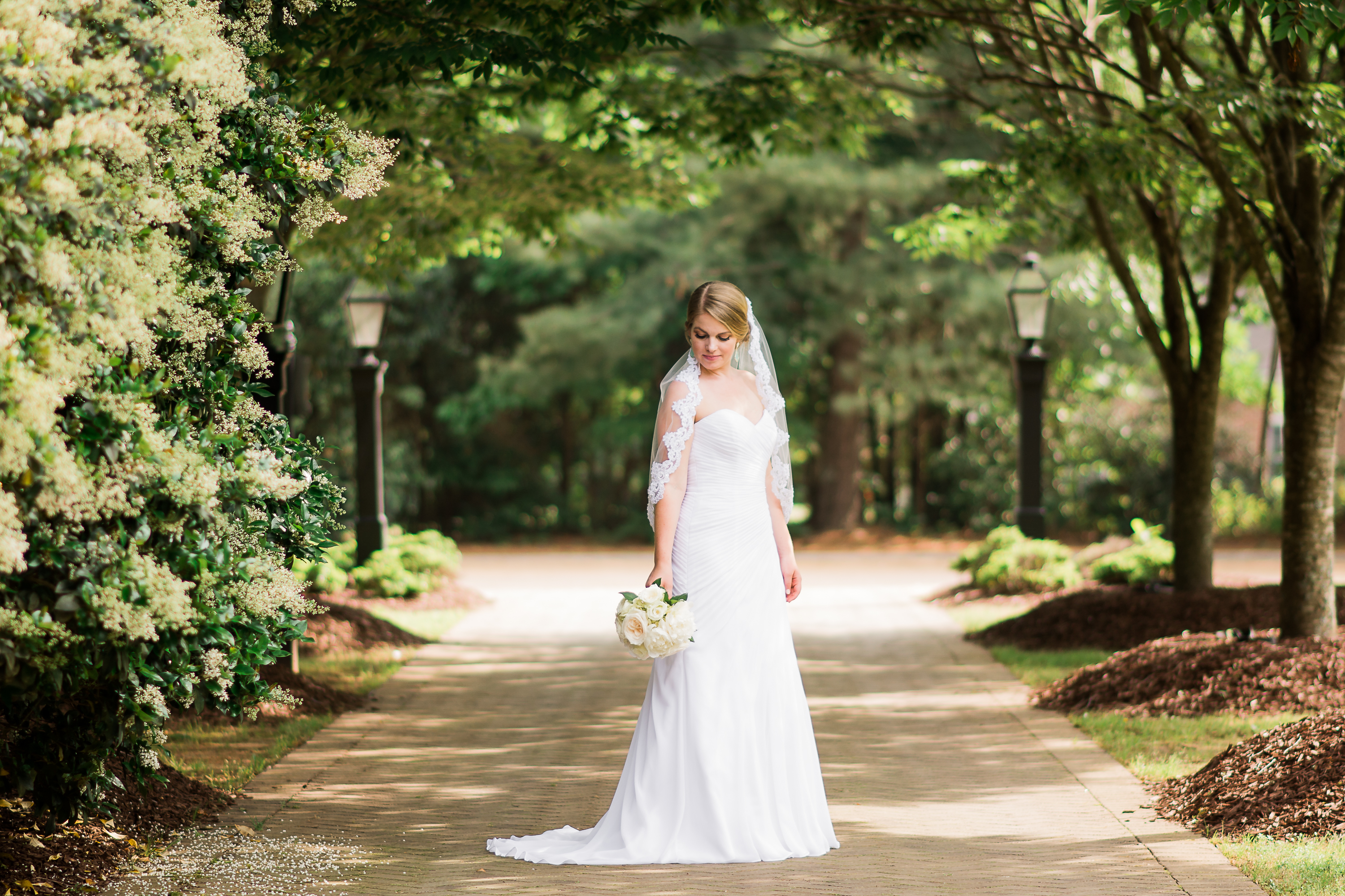 Bridal portrait at The Sutherland