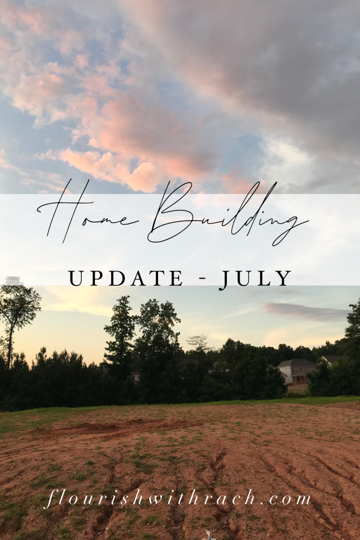 Home building update – lots of changes
