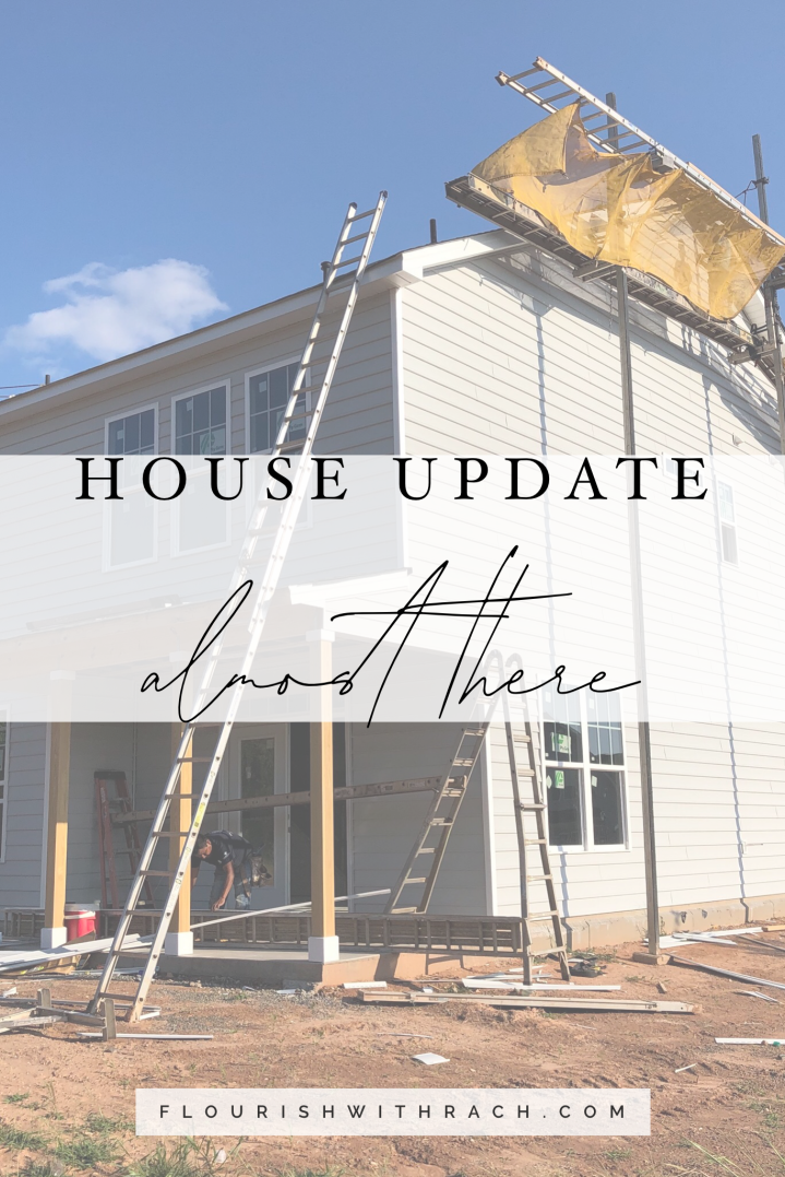 House update – almost there!